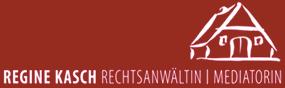 Logo: Regine Kasch Rechtsanwältin und Mediatorin